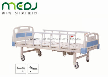 Cina ABS Steel Electric Hospital Bed, 2 Fungsi Remote Control Hospital Patient Bed pemasok